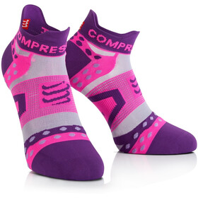 Compressport Pro Racing Ultralight Run Low Socks purple